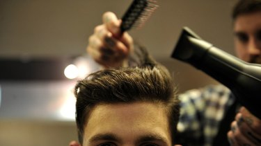 A regular haircut is part of a good grooming routine.
