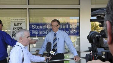 More allegations ... Steve Cansdell, who resigned from parliament on Friday, is facing further scrutiny over the leasing of an office to the NSW Nationals.