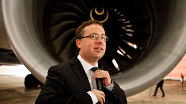 """We are still looking at setting up a premium airline in Asia"" ... Alan Joyce."