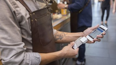 Square's latest chip card reader is being launched in Australia, but it won't be contactless, because then it would be too big.