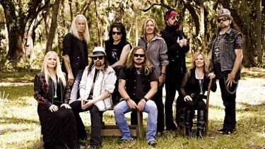 All for one: Family ties have played a major part in Lynyrd Skynyrd's longevity.
