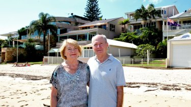 Change is good:  Elizabeth Armour, 71, and her partner Don Parker, 70, left their expansive, three-storey waterfront home of 14 years at Gunnamatta Bay near Cronulla, and moved to a low-maintenance, renovated place across the street.