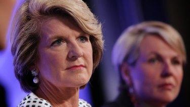 New Foreign Minister Julie Bishop.