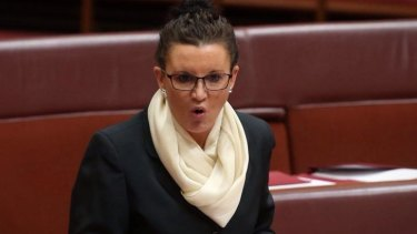 "Senator Jacqui Lambie: ""Clive will have to decide whether he wants to see his party separated in the Senate."""