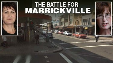 Labor's Carmel Tebbutt faces a real battle in Marrickville to beat back  the Greens'  Fiona Byrne.