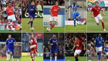 The top 10: the most valuable transfers.