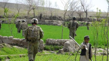 Under scrutiny ... Australian troops in Afghanistan will need to be more accountable if they carry out more interrogations.