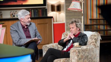 Shaun Micallef and Brian Mannix on <i>Talkin' 'Bout Your Generation</I>.