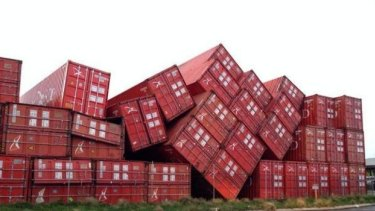 Sea containers were blown around 'like Lego' in Fremantle, according to one Radio 6PR caller.