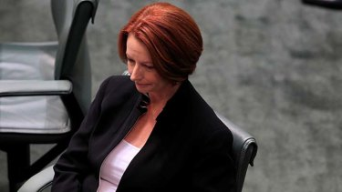 Putting pragmatism ahead of politics ... Julia Gillard.