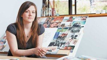 Alexis Keogh in her studio.