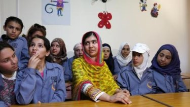 Malala Yousafzai, the teenage Nobel peace prize winner. Her mother grew up illiterate, like the women before her, and was raised to be invisible to outsiders. Malala is a complete contrast: educated, saucy, outspoken and perhaps the most visible teenage girl in the world.