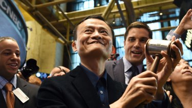 Alibaba's founder and chief executive Jack Ma.