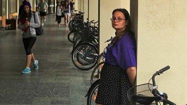 Fee 'essential': Monash University's Clayton student union president Freya Logan.