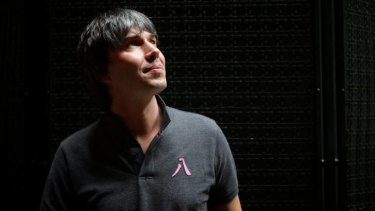 Renowned physicist Professor Brian Cox.