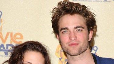 Official ... Actress Kristen Stewart and actor Robert Pattinson are an item.