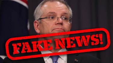 """Scott Morrison has dismissed reports of a push within the Coalition for a free vote on same-sex marriage as """"fake news""""."""