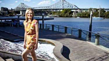 Kevin Rudd's rival Rebecca Docherty strides it out for Grazia magazine.
