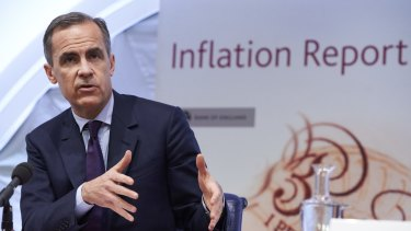 Bank of England governor Mark Carney. The bank has warned of the risks of an exit.
