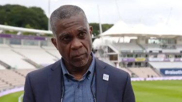 West Indies cricket legend Michael Holding has broken down discussing the racism faced by his parents.