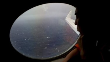 The search for the missing plane continues off the coast of Perth.