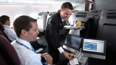 The perks of business class travel are a thing of the past for many business travellers.