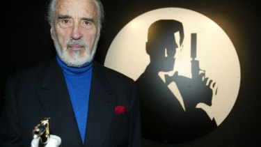 Christopher Lee was related to Ian Fleming, creator of James Bond.