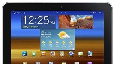 Samsung's 4G tablet.