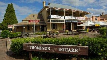Thompson Square: Celebrates the lives of ordinary working Australians.