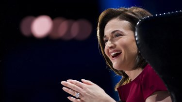 """""""That's fantastic"""": Sheryl Sandberg says CEOs complained women now want to be paid the same as men."""