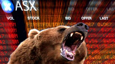 The S&P/ASX 200 index experienced the largest single-week fall since November.
