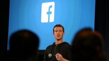 Facebook CEO Mark Zuckerberg: he cares about you.