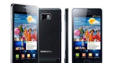 Samsung Galaxy S II.