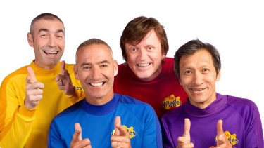 Original four ... from left, Greg Page, Anthony Field, Murray Cook, and Jeff Fatt, have been entertaining for 21 years.