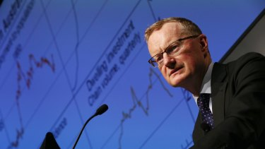 Philip Lowe, governor of the Reserve Bank of Australia .