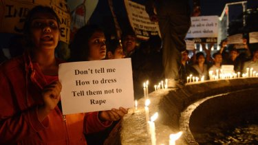 Outcry: Indians have protested against rape and called for cases to be fast tracked by police.