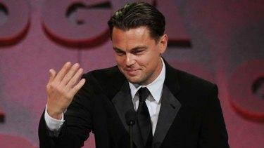 Calling Sydney home ...  Leonardo DiCaprio.