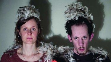 Karen Sibbing and Joshua Ferenbach in <i>NOA</i>.
