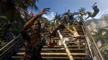 An image from gameplay in <i>Dead Island</i>.
