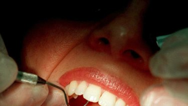 Palpable fear ... dentists strive to reduce patient anxiety.