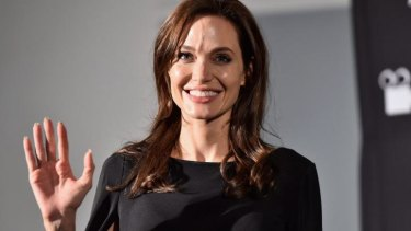 Centre of the latest hacking scandal: Angelina Jolie.