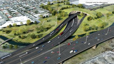 The Western Distributor project will cost $5.5 billion to build.