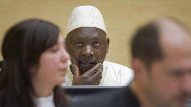 Guilty of war crimes ... Congolese warlard Thomas Lubanga.