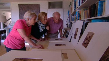 Janet and Sam Cullen with daughter Sarah Stuart-Jones, on Australian Story.