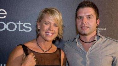 Lisa Curry with her current partner Joel Walkenhorst.