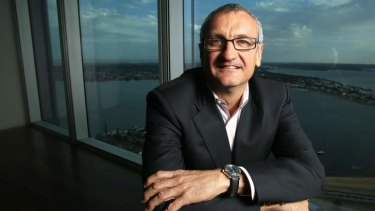 BHP's Jimmy Wilson says the miner wants to 'close the gap' on Rio Tinto in iron ore.