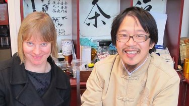 A taste for tea ... Rebecca Cressman and Raymond Mao at My Tea House in Neutral Bay.