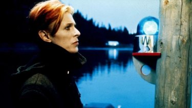David Bowie in <i>The Man Who Fell to Earth</i>.