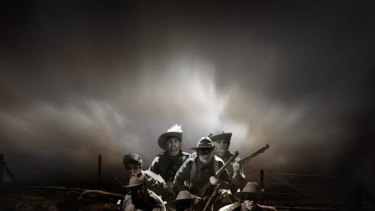 QTC's production of Black Diggers has been nominated for Best New Australian Work at the 2014 Helpmann Awards.
