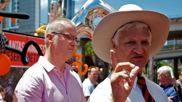 Waiting... Queensland independent MP Bob Katter could pocket a $335 million government grant for his CopperString power project.